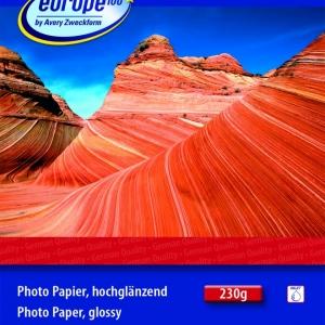 Фотобумага Европа-100, глянцевая 10 х 15 см,  090385-70
