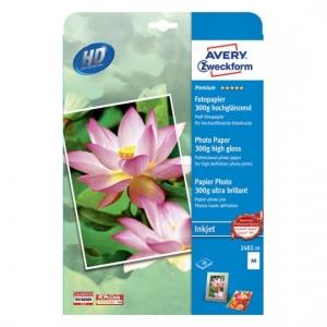 Фотобумага для струйного принтера, премиум, А4, 300гр, 2482-20