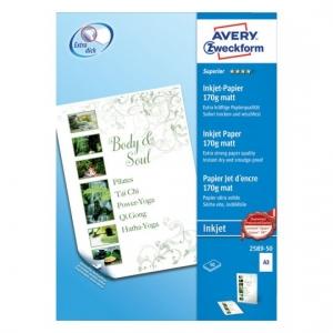 Высококачественная бумага матовая для струйных принтеров, А3, 2589-50