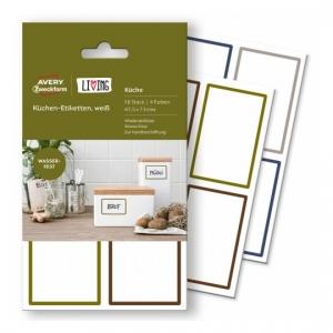 Этикетки living для кухни 47,5 x 73мм, 62002