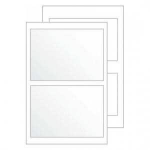 Самоклеящиеся карманы living с вкладышем 95 x 60мм, 62014