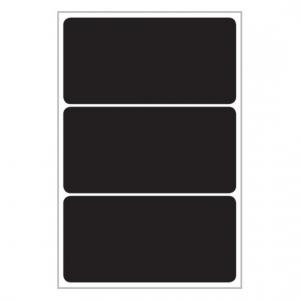 Меловые этикетки living 48,5 x 97мм, 62018