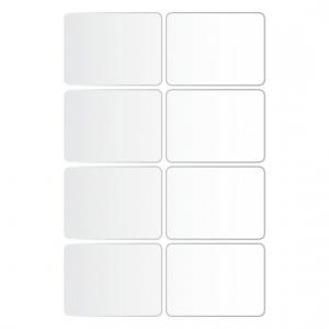 Металлизированные этикетки living 47,5 x 35мм, 62031