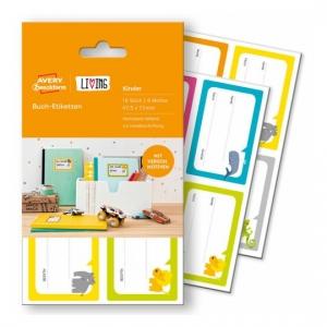 Этикетки living для книг, 47,5 x 73мм, 62038
