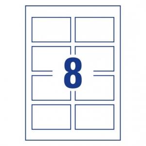 Заготовки для визитных карточек, сатин 85 х 54мм, C32096-10