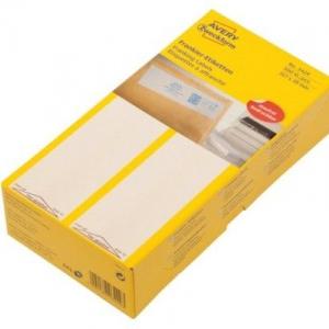 Белые адресные франко-этикетки из бумаги, 157 x 39, 3429