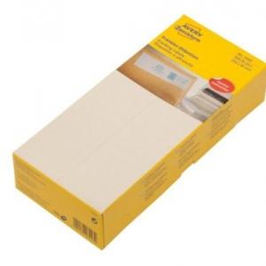 Белые адресные франко-этикетки из бумаги, 210 x 45, 3443