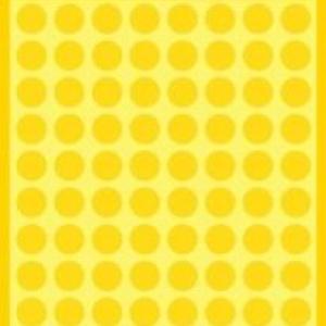Желтые этикетки-точки из бумаги, ? 8, 3013