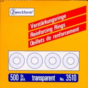 Прозрачные укрепляющие кольца из полиэстера, ? 13, 3510