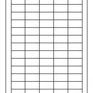 Универсальные белые этикетки из бумаги, 38 x 21.2, 6121