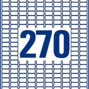 Удаляемые белые мини-этикетки из бумаги, 17.8 x 10, L4730REV-25