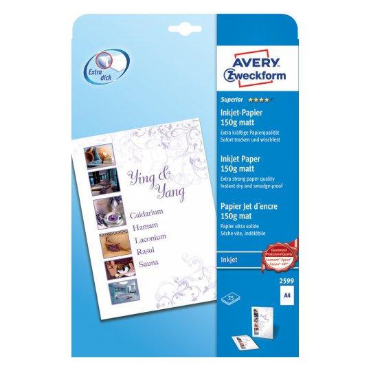 Высококачественная бумага матовая для струйных принтеров, А4, 2599