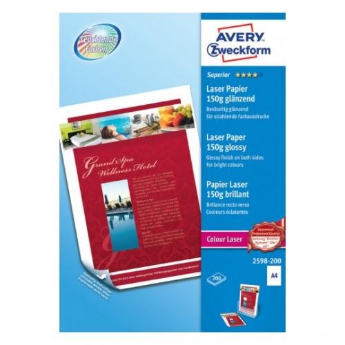 Бумага Премиум-класса для лазерного принтера, А4, 2598-200