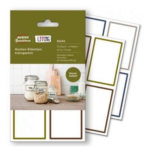 Этикетки living для кухни 47,5 x 73мм, 62003