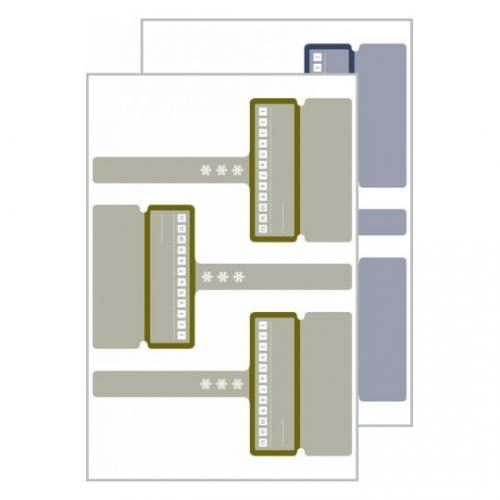 Морозостойкие этикетки living с биркой 97 x 54мм, 62006