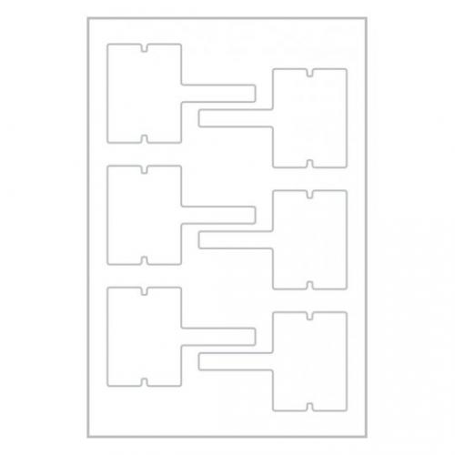 Этикетки living для проводов, 60 x 40мм, 62027