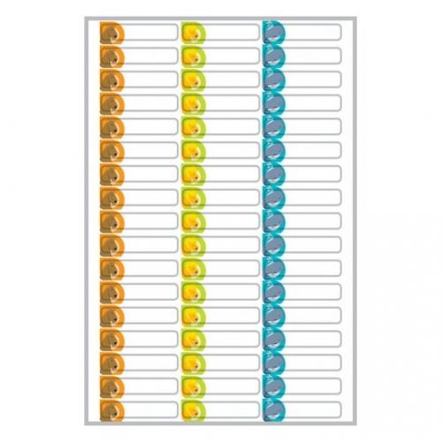 Этикетки living для карандашей, 31 x 6мм, 62039