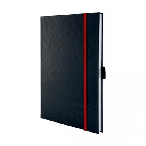 Блокнот Notizio для записей, в клетку, А5, серый, 80 л.