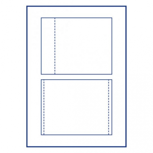 Вкладыши для СD/DVD боксов, 151 х 118мм, C32251-25