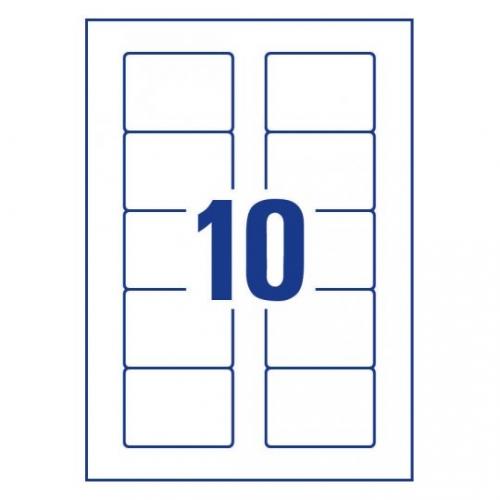 Удаляемые этикетки для дискет 70 x 50,8мм, L4738REV-25