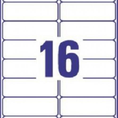 Белые адресные этикетки QuickPEEL из бумаги, 99.1 x 33.9, L7162-250