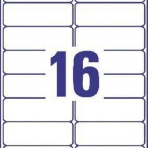 Белые адресные этикетки QuickPEEL из бумаги, 99.1 x 33.9, L7162-40
