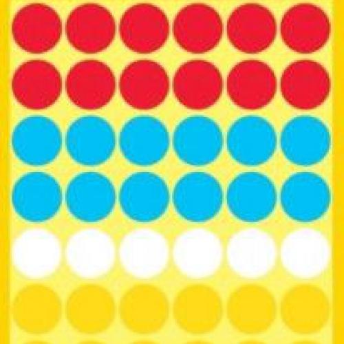 Бумажные цветные этикетки-точки в ассортименте, ? 12, 3088