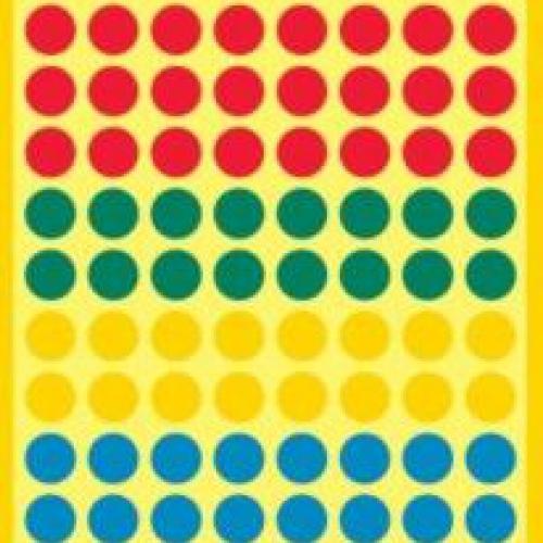 Бумажные цветные этикетки-точки в ассортименте, ? 8, 3090