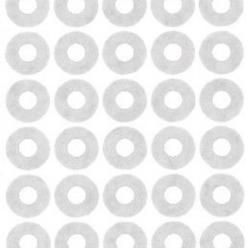 Белые укрепляющие кольца из бумаги, ? 13, 3027