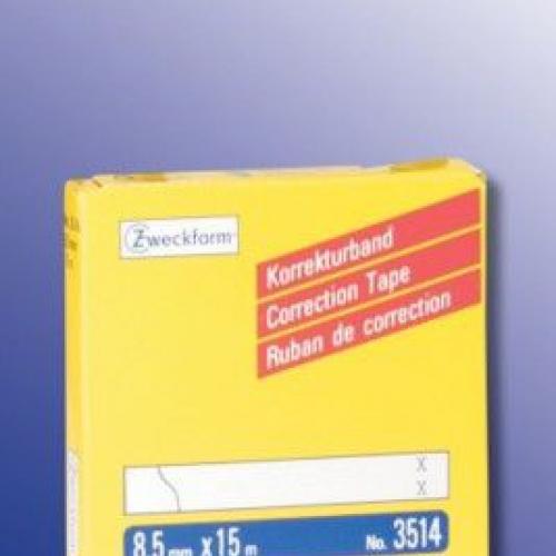 Белая корректирующая пленка из бумаги, 8.5 x 15, 3514