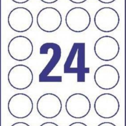 Прозрачные этикетки из полиэстера, ? 40, L7780-25