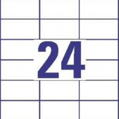 Универсальные белые этикетки из бумаги, 70 x 36, 3490