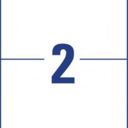 Белые суперпрочные пленочные этикетки из полиэтилена, 210 x 148, L7916-10