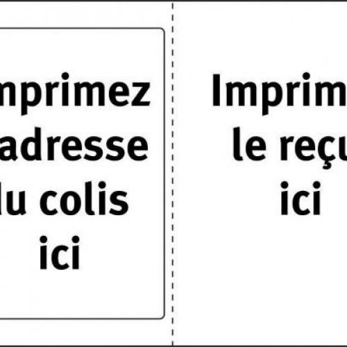 Белые непросвещивающиеся этикетки для отправок и заметок из бумаги, 182 x 130, L7980-40