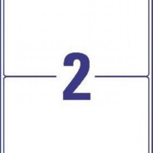 Белые адресные этикетки из бумаги, 199,6 x 143,5, L7168-10