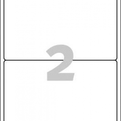 Белые эко-этикетки QuickPEEL из бумаги, 199.6 x 143.5, LR7168-100